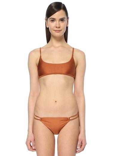 Somedays Lovin İnce Askılı Bikini Üstü Bakır